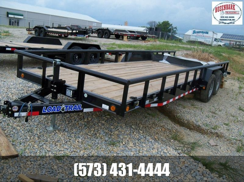 24X083 Load Trail Black Carhauler Slide In Ramps & Side Rails CS8324052