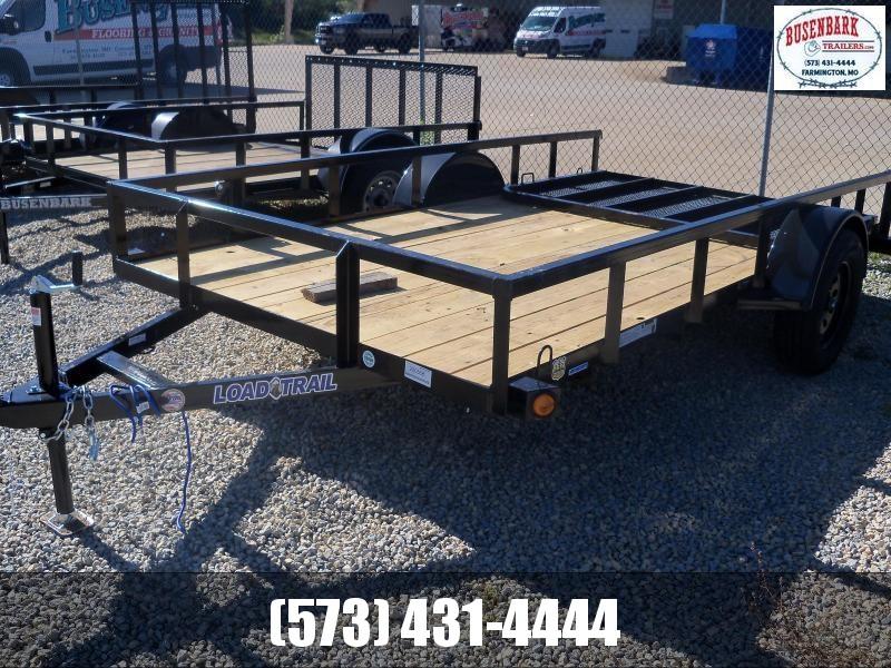 12X077 Load Trail Black Utility Trailer Fold Gate Square Rails Spare Mount SR7712031