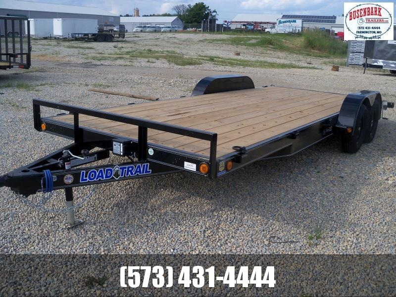 20X083 Load Trail Black Carhauler Slide In Ramps CH8320032