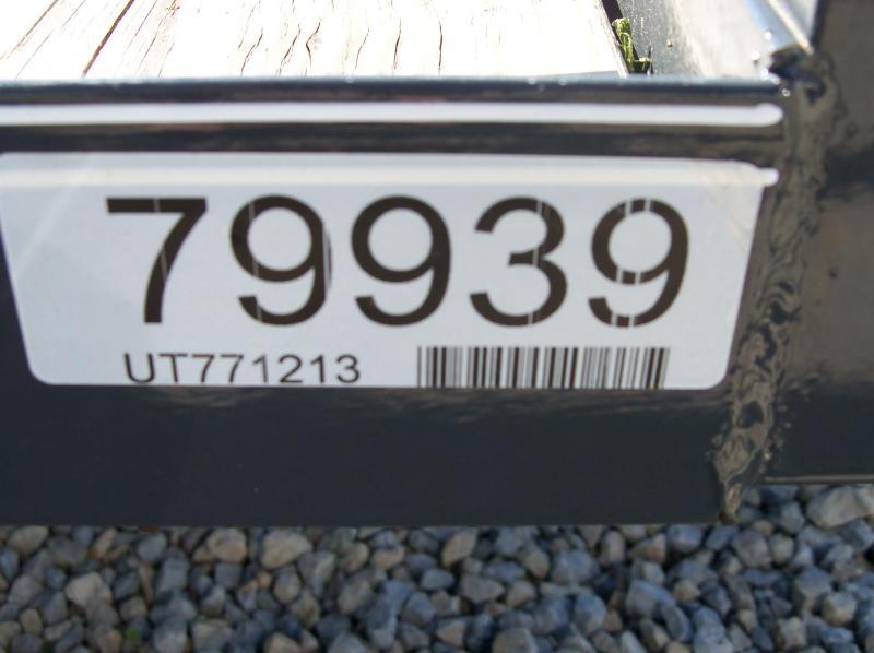 12x077 Lamar Charcoal Classic Utility No Gate UT771213