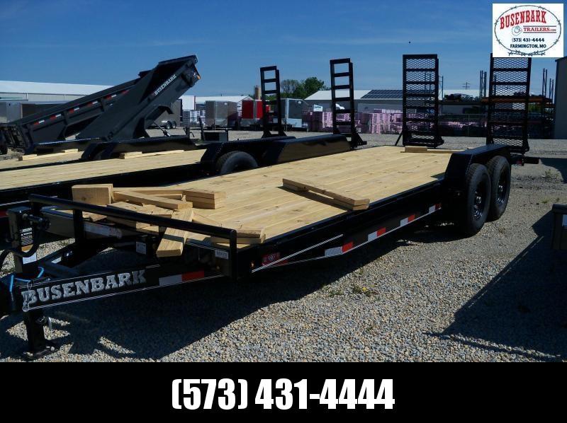 "22X083 Lamar Black Equipment Hauler Utility Trailer 2' Dove 24"" HD Stand Up Ramps H6832227"