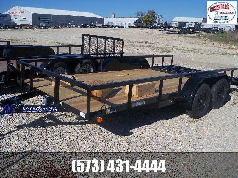 16X083 Load Trail Black Utility Trailer Fold Gate Square Rails Spare Mount UR8316032