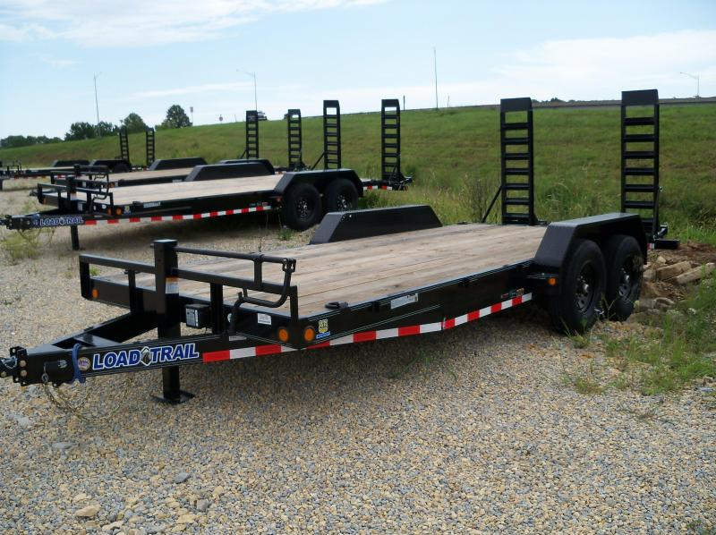 18x083 Load Trail Black Carhauler Fold Up Ramps XH8318072