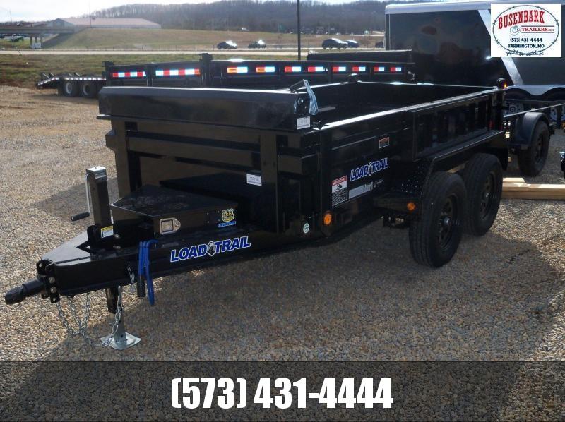 "10X060 Load Trail Black Dump Trail 18"" Sides DT6010032"