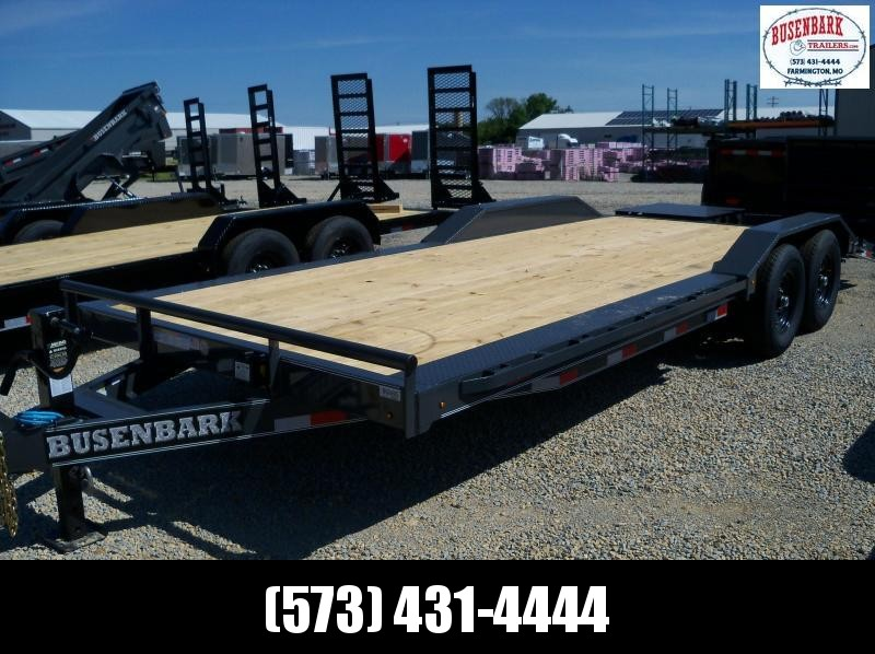 22X102 Lamar Charcoal Equipment Hauler Utility Trailer 4' Dove Rhino Ramps H6022227