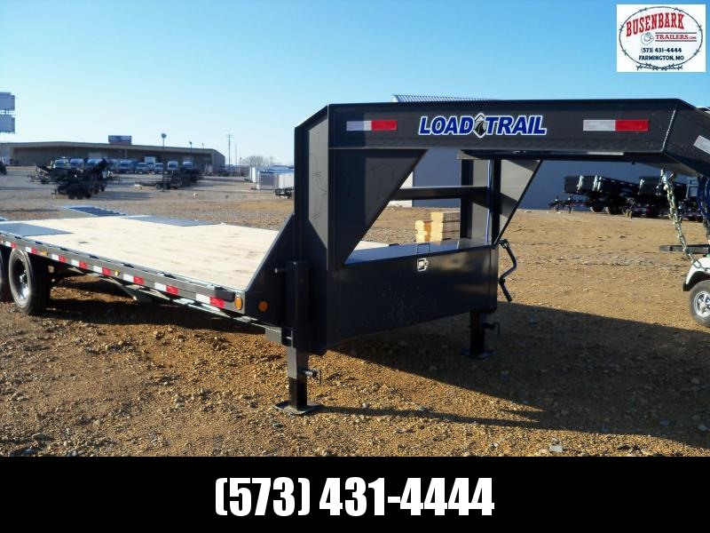 25X102 Load Trail Gray Gooseneck Flatbed Trailer GS0225072
