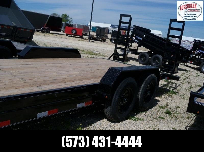 20x083 Lamar Black Equipment Hauler 2' Dove Tail H6832027