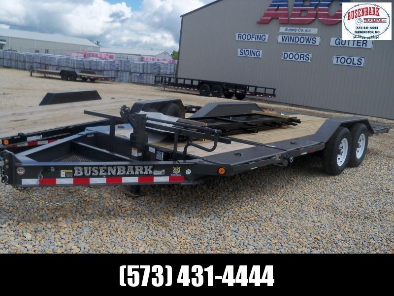 20X102 Load Trail Gray Tilt N Go Tilt Deck TH0220072