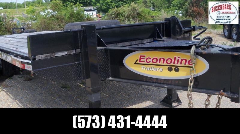 25X102 Econoline Black Used 52000# Deck Over Pintle Hook DP2425DA