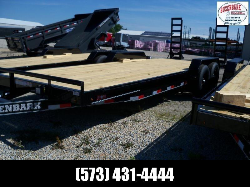 22X083 Lamar Black Equipment Hauler Utility Trailer 2' Dove Stand Up Ramps H6832227