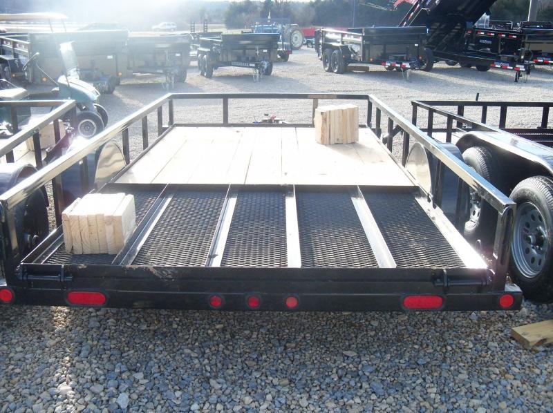 12X077 Load Trail Black Utility Trailer Nontilt 4' Fold Gate SE7712031