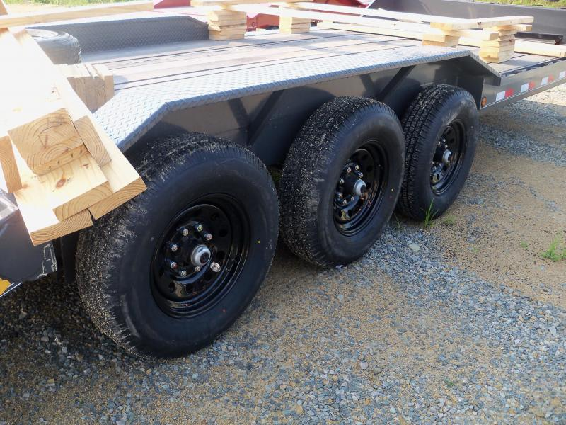 22X102 Load Trail Gray Triple Axle Gooseneck Carhauler GC0222073