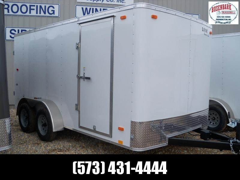 14X084 Look White Enclosed Cargo Trailer LSCAA7.0X14TE2FC