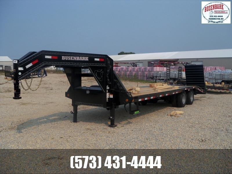 28X102 Load Trail Black Low Pro Gooseneck Dovetail & Max Ramps GP0228102