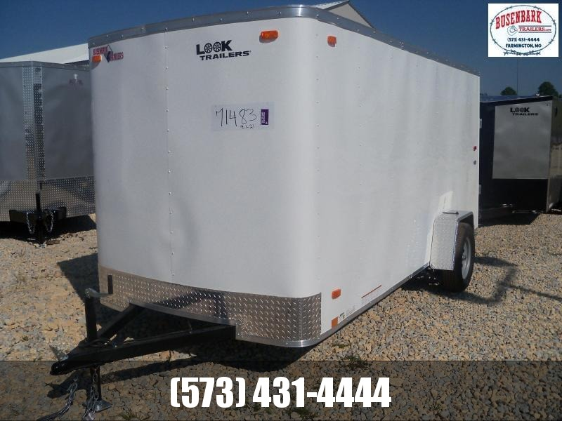 14X072 Look White Enclosed Cargo Trailer LSCAA6.0X14S12FC
