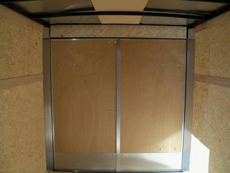 10X072 Look White Enclosed Cargo Trailer LSCAA6.0X10S12FC