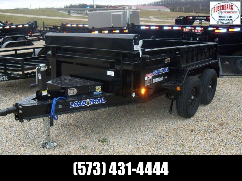 "10X060 Load Trail Black Dump Trailer 18"" Sides DT6010032"