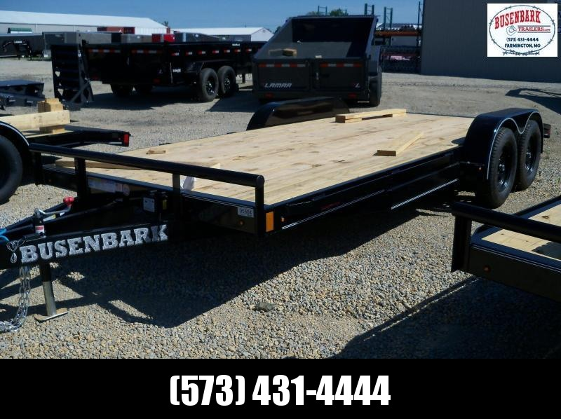 18X083 Lamar Black Econo Carhauler Trailer Rub Rail 2' Dove Slide In Ramps CE831823