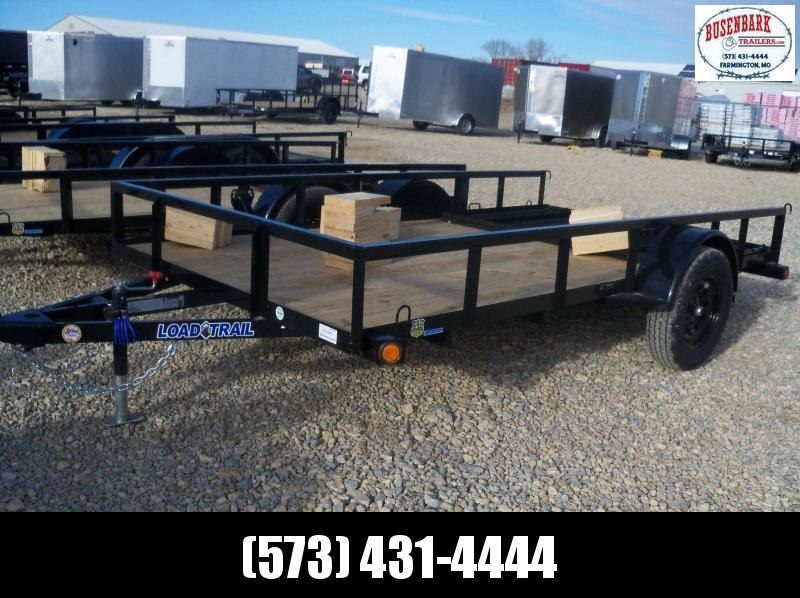 12X077 Load Trail Black Utility Trailer Nontilt 4' Gate SE7712031