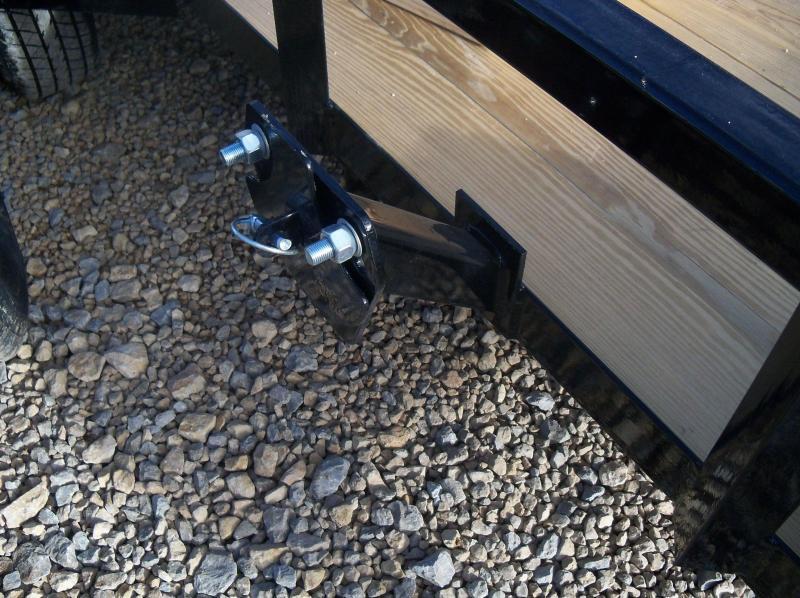12X077 Load Trail Black Utility Trailer Nontilt 4' Gate SE7712031