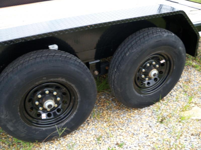 20x083 Load Trail Black Carhauler Fold Up Ramps XH8320072