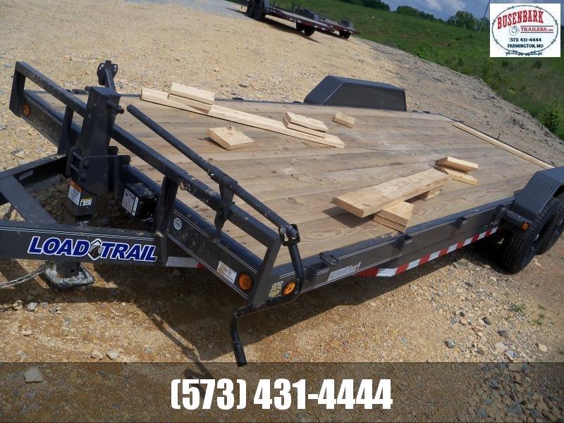 22X083 Load Trail Gray Carhauler Fold Up Ramps CH8322072