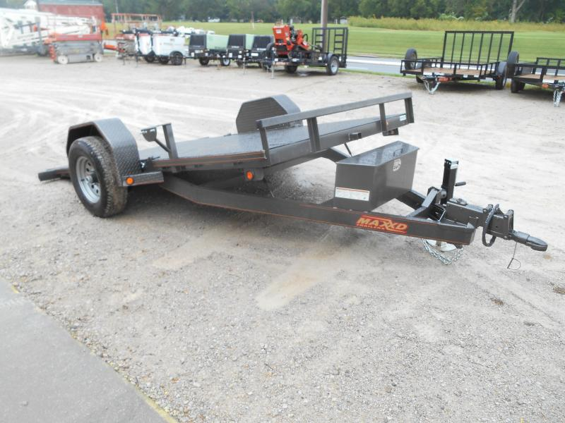 2019 Maxxd Trailers 4 Single Axle Gravity Quick Tilt Trailer
