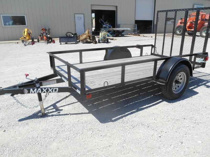 2017 Maxxd Trailers Maxxd White Series Single Axle Utility Trailer