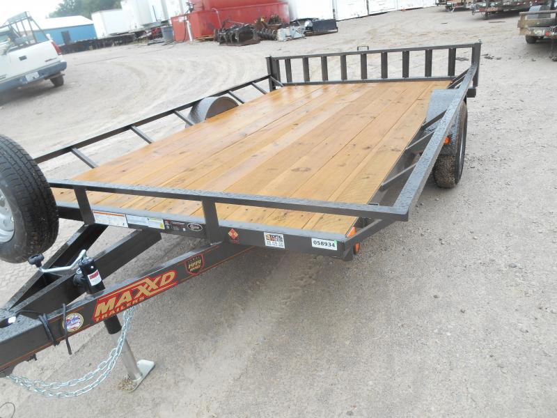 2019 Maxxd Trailers Single Axle ATV Hauler