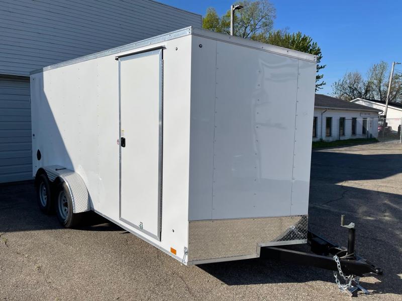 7x16 LOOK DLX - 6ft 6inches  Interior height - w/ Ramp Door