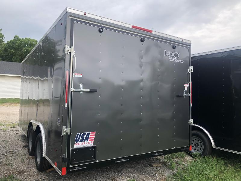 2021 Look Trailers 85X16 DLX 7K Enclosed Cargo Trailer