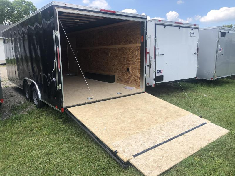 2021 Look Trailers 85X20 DLX 7K Enclosed Cargo Trailer