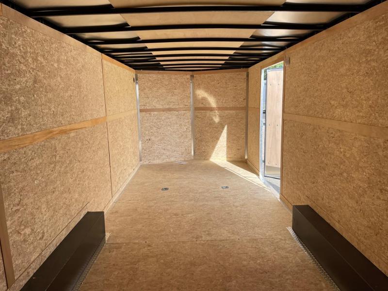 8.5x24 Enclosed Car Hauler - 7ft Interior - 10K