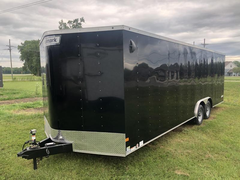 2020 8.5 x 24 Haulmark 10K Enclosed Cargo Trailer ( Damaged )