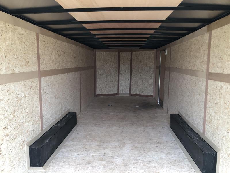 2020 8.5 x 24 Haulmark 10K Enclosed Cargo Trailer ( Damaged )