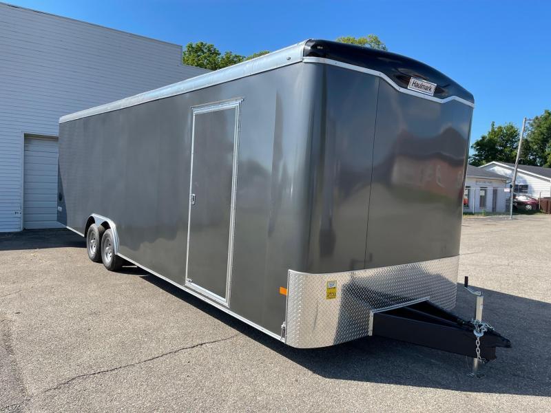 8.5x28 HAULMARK TRANSPORT Enclosed Car Hauler Trailer (10K) EXTRA HEIGHT!