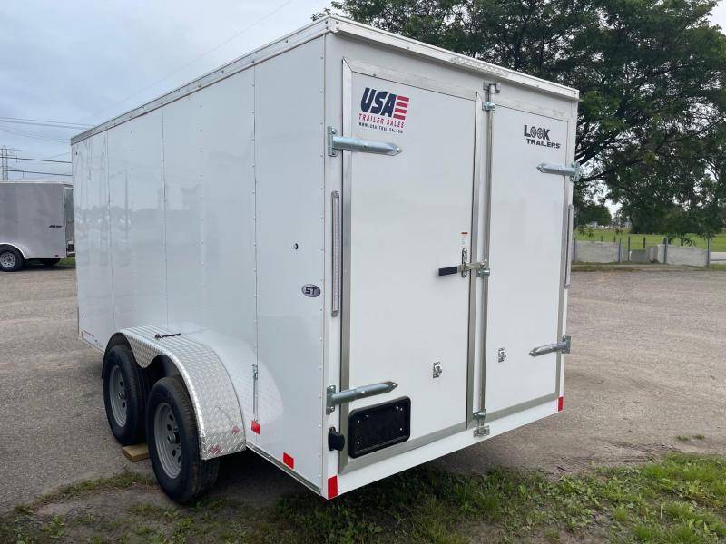 6x14 LOOK Enclosed Trailer w/ Barn Doors (TANDEM)