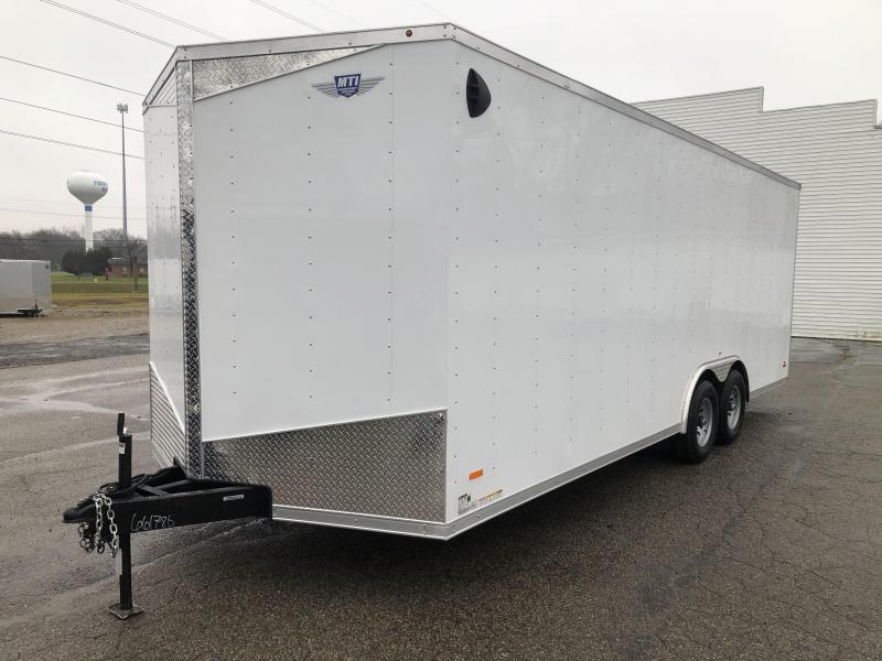 2021  85X20 MTI   7K Enclosed Cargo Trailer with Extra Height
