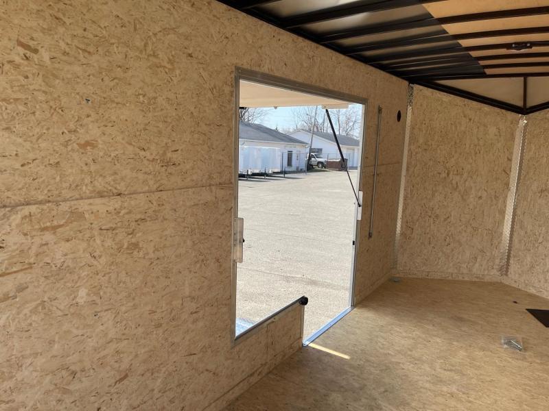 7 x 14 Formula Triumph  Enclosed Trailer - w/ Ramp Door   7ft Interior UTV Package w/ Escape Door