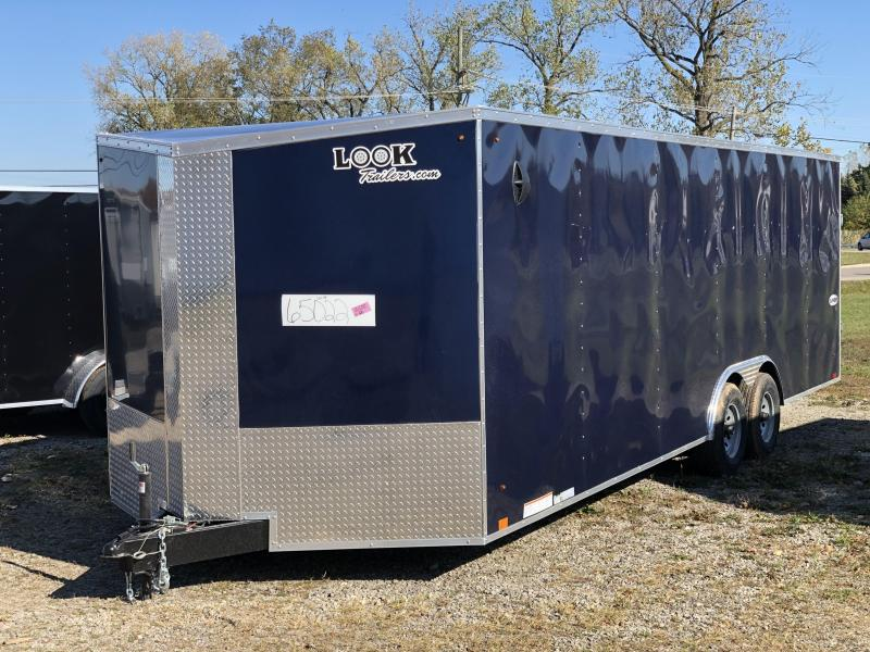 2021 Look 8.5 x 24 10K Enclosed Cargo Trailer