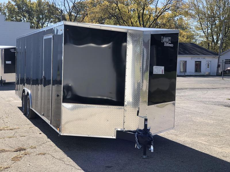2021 Look 8.5 x 24 10K Enclosed Cargo Trailer