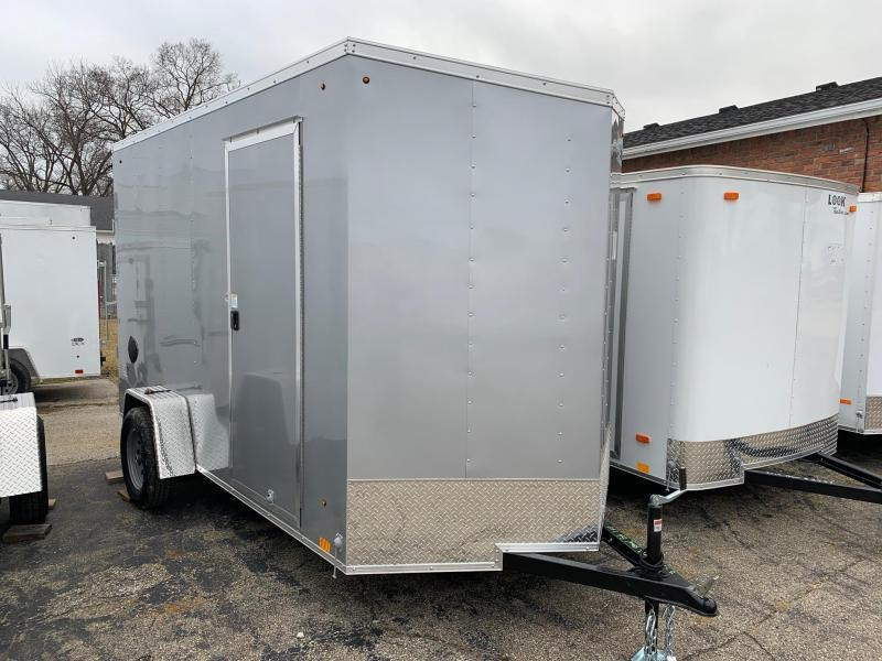 6x12 LOOK DLX - 7' Interior Height - w/ Ramp Door
