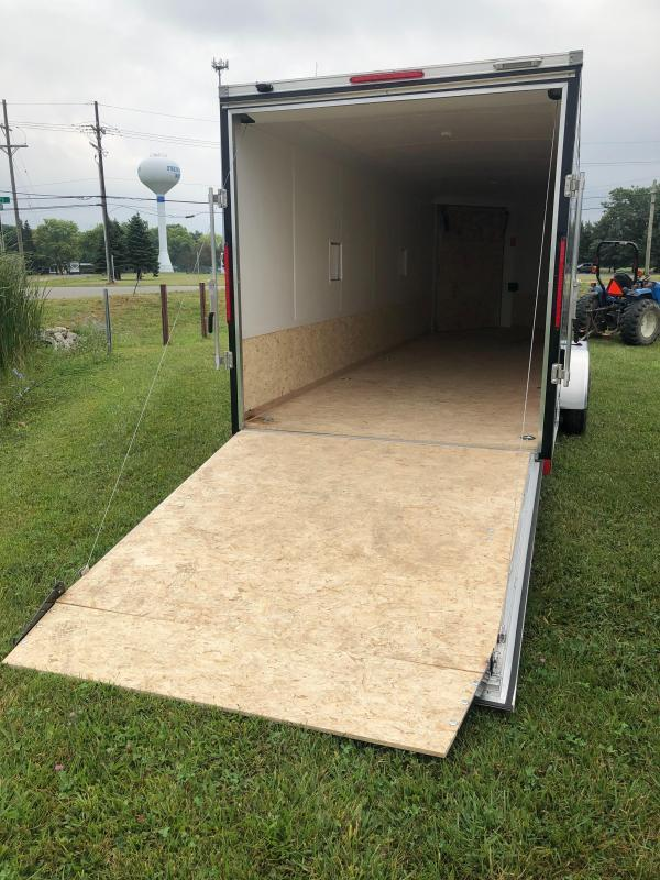 "7x29ft 5-place Snow Trailer - 6'6"" Inside Height - Loaded Snow Package - All Aluminum - All 16"" on Center"