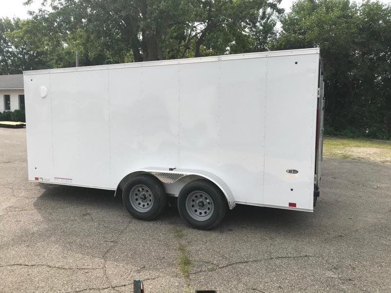 "7x16 LOOK DLX - 6"" additional height - w/ Ramp Door"