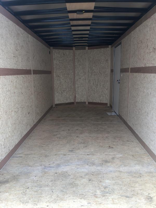 7x16 Haulmark Transport Ramp Door - Transport Package 7ft Interior