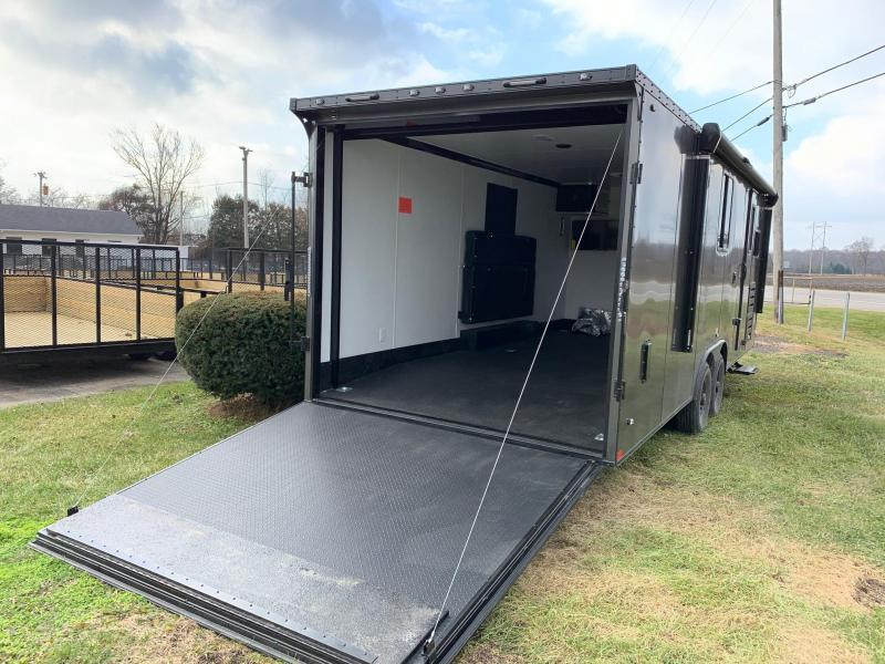 Toy Hauler w/ Living Quarters: STEALTH NOMAD 12K Enclosed Car Trailer