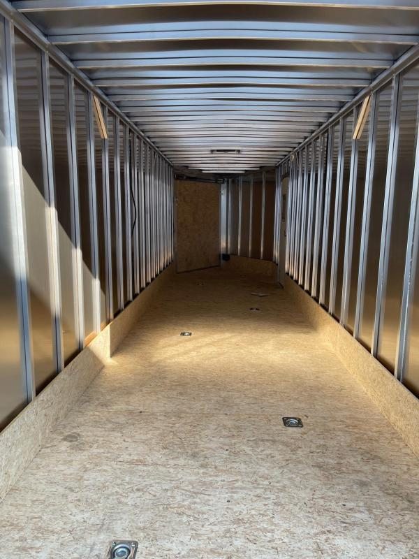 7x27ft Extra Height 4-place Snow Trailer 7ft Interior -- All Aluminum