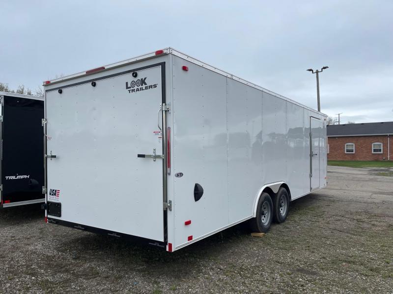 8.5x24 LOOK Enclosed Car Hauler Trailer (10K)