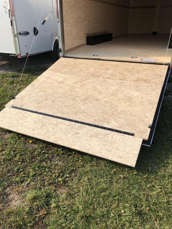2021 Look 8.5 x 20 10K Enclosed Cargo Trailer