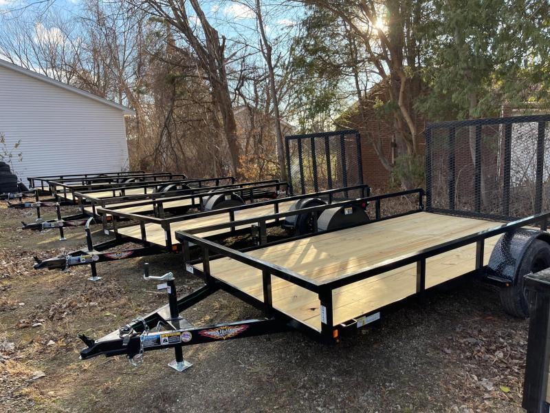 2021 76 x 12 H and H STEEL LandscapeTrailer  3.5K